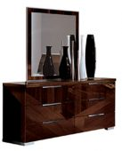 Bedroom Furniture Modern Bedrooms QS and KS Capri/Cindy Dresser/Chest/Mirror